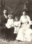 Francis Cyprien, Francis Henry, Elvera & Alice Hyde Duval, 1903 Oakland California