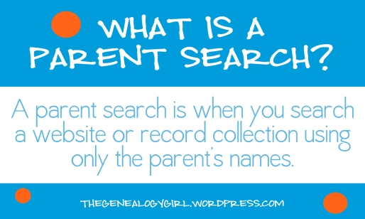 gg, what is a parent search