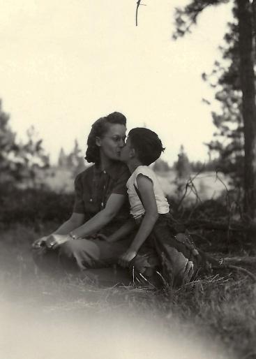 Estelle & Frankie Duval, June 1944