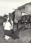 Estelle Maffit Duval photographing horses