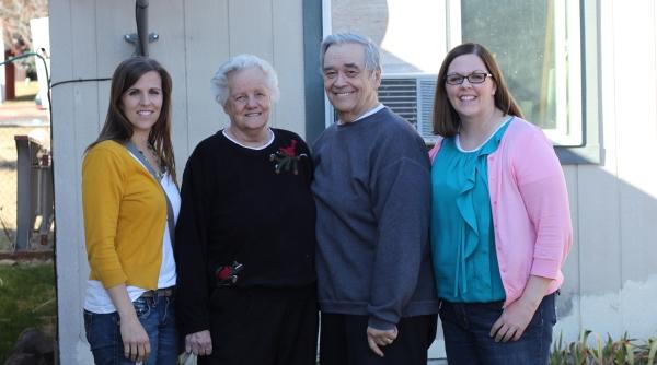 Tara, Grandma, Grandpa, Amberly