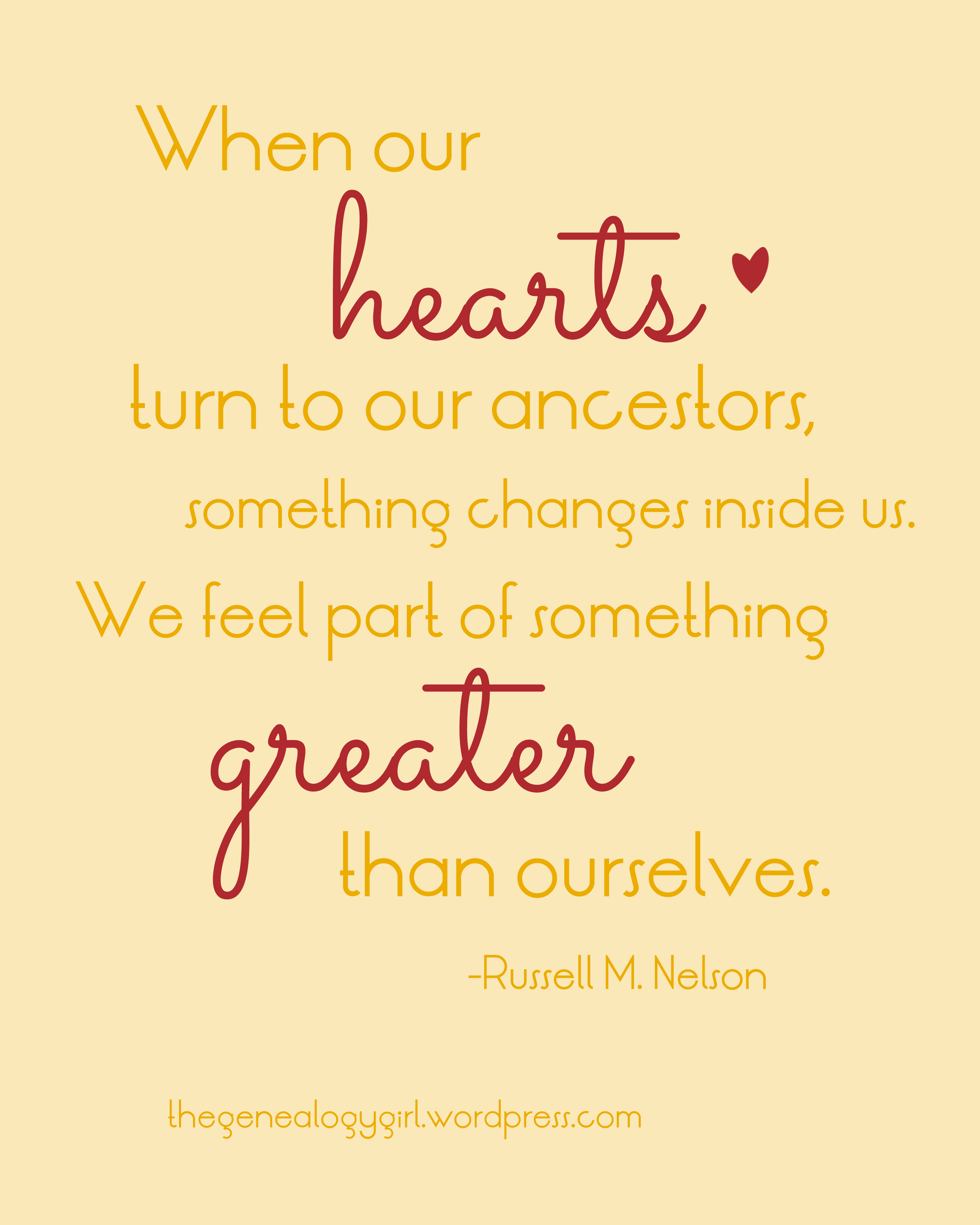 Quotes About Family Russell Mnelson Quote 2  Thegenealogygirl