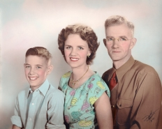Frank, Deane, & Frank Duval, August 1949