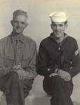 Frank & Frank Duval, November 1954