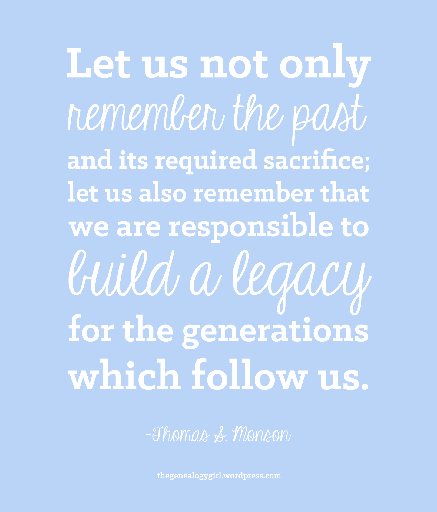 Legacy Quotes: Thegenealogygirl