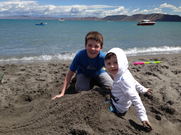 Carter & Harrison, bear lake, 2014