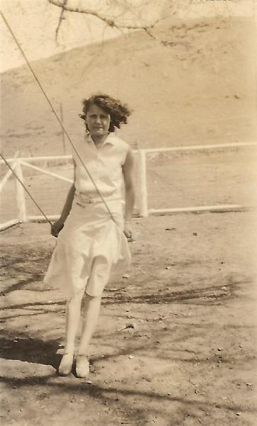 Estelle Duval on swing