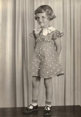 My Grandma, June 27, 1936, Great Falls Montana.