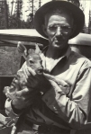Frank with Bambi, 1955