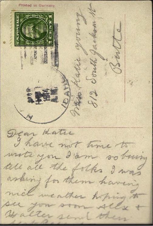 Maggie Douglas postcard
