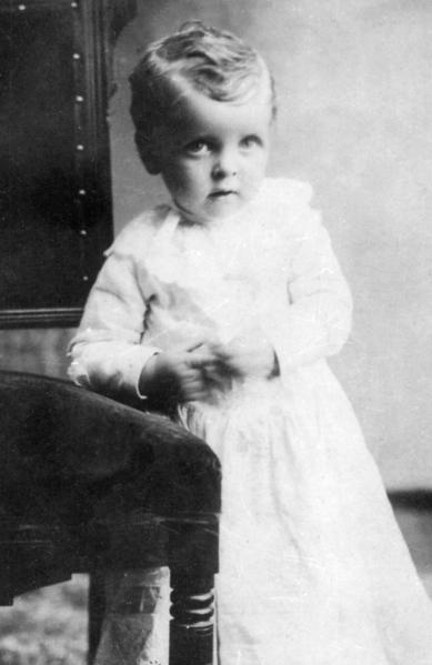 Claude Albert Ellis, baby picture