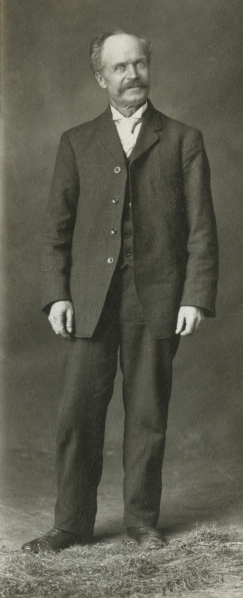 Frederick William Ellis, full length photo