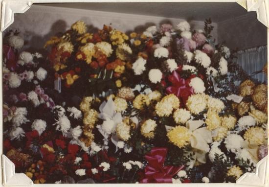 PETERSON, Darrell Skeen, Funeral Flowers 2