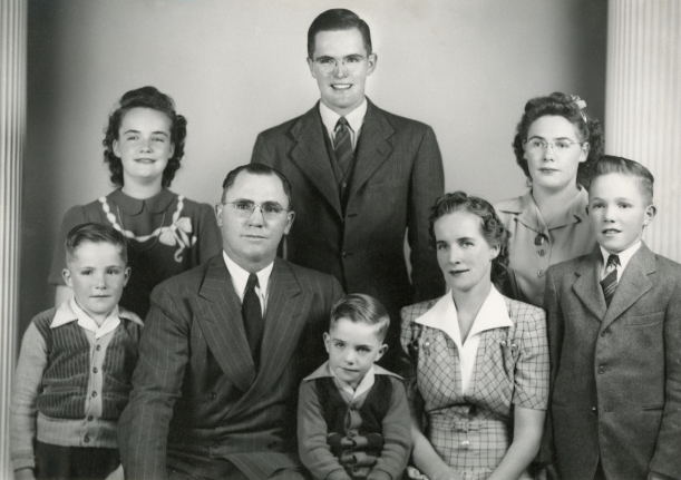 Rulon and Naomi family, from original
