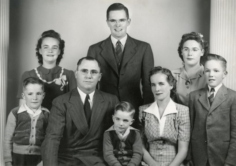 Rulon and Naomi family, from original