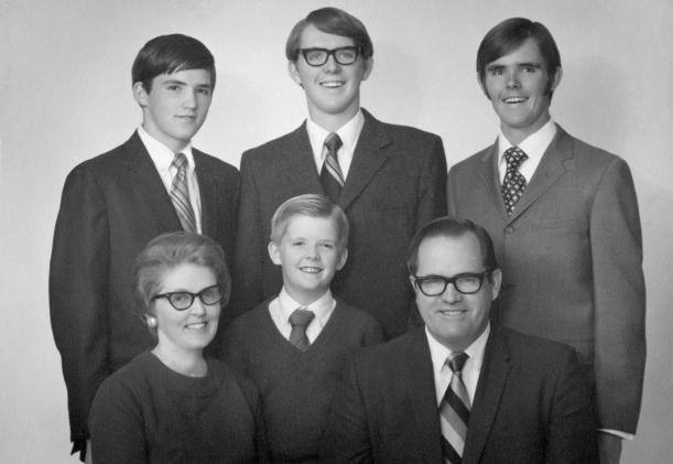 Ronald and Margaret Peterson family