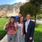 17 August 2016, about 30 minutes before we dropped him off at the MTC, Provo, UT