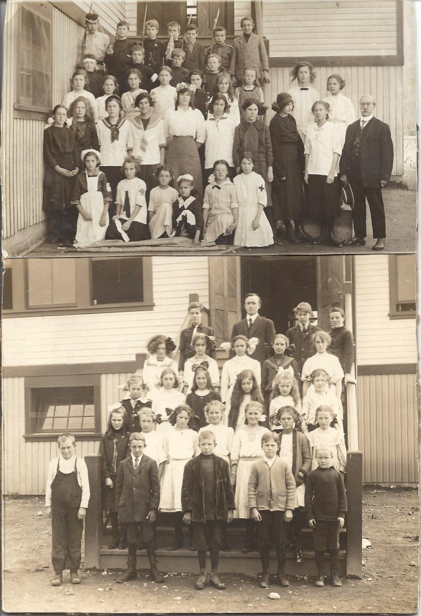 DUVAL, Francis and Vera, 1916 Lynn Valley School