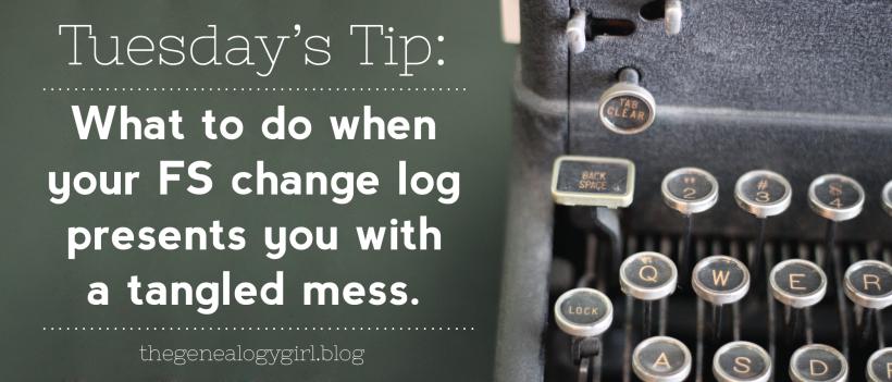 FS change log mess