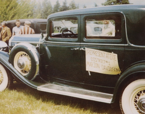 COSTELLO, John's car in a car show in Bonner's Ferry, 1974