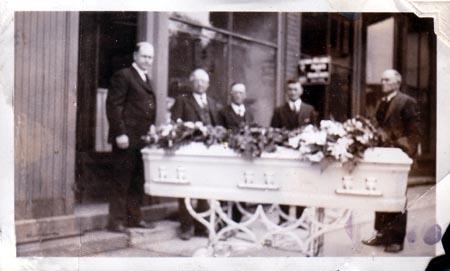 Orval Maffit's funeral #2jpg